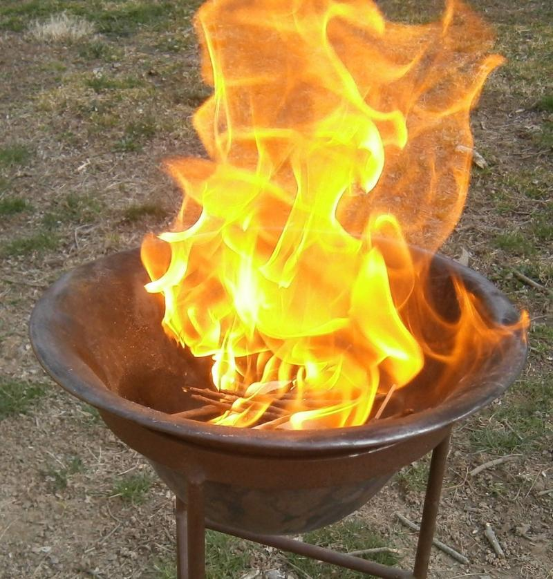 New Fire at Easter Vigil